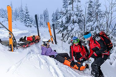 Skiing Accident was Caused by Defective Equipment